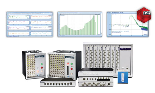 High Channel Dynamic Signal Analyzers